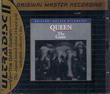 Queen The Game  MFSL GOLD CD NEU OVP Sealed U II mit J-Card UDCD 610