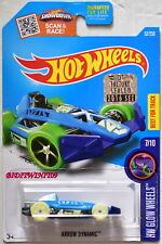 Hot Wheels 2016 Hw Si Illumina Ruote Freccia Dinamico # 7/10 Sigillato in