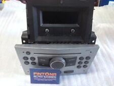 Vauxhall Astra H CD30 Radio CD Player + Clock Display Kit / Silver 13190857