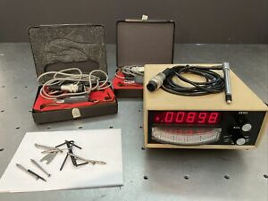Mitutoyo 519-609 Mu Checker Inspection Gage Readout w./ Lever Gauges