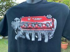 Honda Civic Hatchback Crx D-Series Red Engine Vtec Valve Cover JDM EDM USDM Rare
