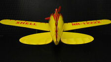 Vintage Aircraft Airplane Metal Rare Pre WW2 Military Armor 1 48 Carousel Yellow