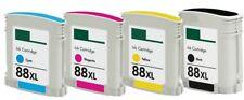 4-Pk/Pack 88XL Ink Cartridges For HP Officejet Pro L7500 L7550 L7580 L7590 L7600