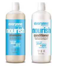 EO Everyone Nourish Shampoo and Conditioner Sulfate Free 20.3 oz each NEW