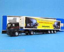 Roco H0 1625 MB 1850 Koffer-Sattelzug GRUNDIG MEGATRON LKW HO 1:87 OVP truck