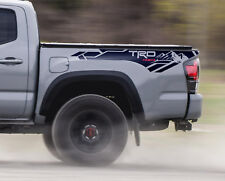pair of TRD Mountains 4x4 side Toyota Tacoma vinyl decal sticker 16 -18