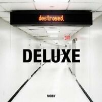 MOBY - DESTROYED - DELUXE EDITION 2 CD + DVD POP NEW!
