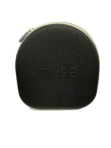 Muse The Brain Sensing Headband  Carrying Hard Case Compatible 1 and 2 Black