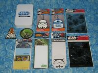 New Star Wars Large 10 Piece Stationary Keychains and More Party Gift Lot