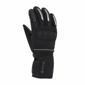 Bering Hercule Men's Gore-Tex Textile Leather Softshell Motorcycle Gloves Black