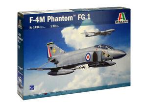 "Italeri 1:72 1434 Mc-Donnell Douglas ""Phantom"" FGR.1 Model Aircraft Kit"