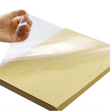 20Pcs Clear Transparent A4 Film Sticker Paper Self Adhesive For Laser Printer