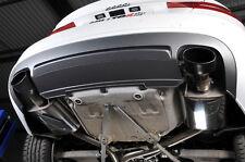 Milltek Scarico Inox AUDI S5 3.0 Sportback 10-11 CAT BACK RES Nero Ovale CE