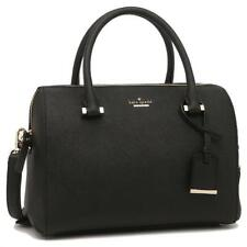 e6e1829b1e41 615c Kate Spade Cameron Street Black Leather Large Lane Satchel