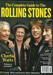 The Complete Guide to the Rolling Stones   2021  Charlie Watts 1941-2021