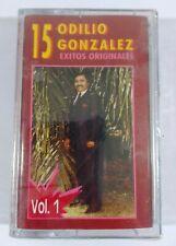 Odilio Gonzalez 15 Exitos Vol 1 KAN-OSO RECORDS Cassette Sealed