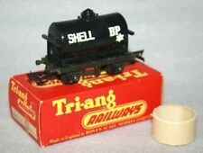 Vintage Triang OO Gauge R210 Shell Fuel Oil Tank Wagon, Boxed