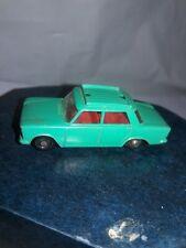 Vintage Matchbox Lesney Fiat 1500 No. 56, Circa 1965, Diecast, clear glass VGC
