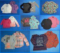 15 Piece Lot Nice Clean Girls Size 7 Fall School Winter Everyday Tops 2w93