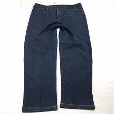 85db1f85cd Kim Rogers Jeans Womens Petite Size 14P Dark Wash Straight Denim