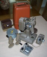 Vintage Revere Film Projector, Movie Camera, Film Splicer, Film Winders, Spools