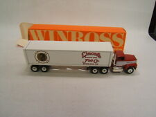 Winross Lincoln Fire Co. Station 1-6 Ephrata PA Ford Tractor Van Trailer VGC