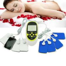 Digital Electric Therapy Machine Pulse Full Body Massager USB Rechargeable