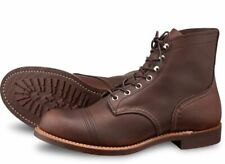 Red Wing Boot Iron Ranger 8111 Amber Harness Leather First Quality