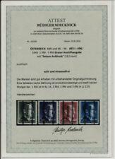 Postfrische Briefmarken aus Österreich mit BPP-Fotobefund
