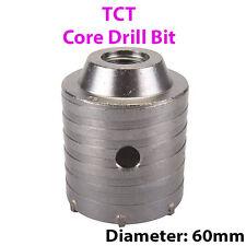 """PRO 60 mm (2.36"""") TCT Core Trapano-Piastrelle Marmo Mattone di vetro foro SAW CUTTER"""