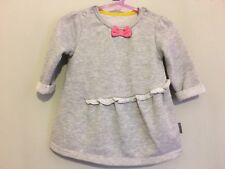 Sweet Baby Girls Sparkly Grey Long Sleeve Dress 3-6m✨