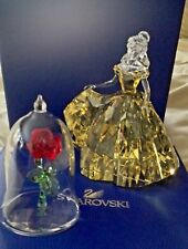 SWAROVSKI 2017 BELLE ~ Beauty & the Beast ~ LE ~ Disney RETIRED & Enchanted Rose