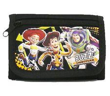 Disney Toy Story Woody,Buzz Lightyear,and Jessie Black Tri-fold Wallet-New!
