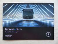 Mercedes-Benz eCitaro - vollelektrischer Omnibus Bus - Prospekt Brochure 08.2018