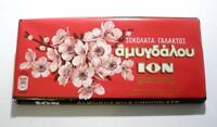 ION Greek Traditional Chocolate with Almonds - 3 Bars X 100g
