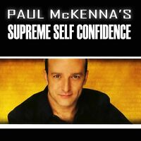 """Paul Mckenna's - """"Supreme Self-Confidence"""" - 1CD Audiobook - New but NOT Sealed"""