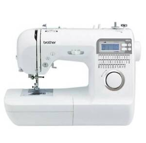 Brother Sewing machine NS25 inc. Carrier and Fabrics
