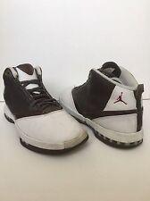2001 Nike Air Jordan XVI XV1 16 Q Grey Cherrywood Red Size 9 Mens 136080-020