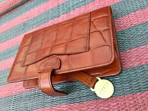 Mulberry Congo Tan Wallet/ Passport Holder New RRP £225