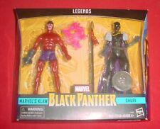 MARVEL LEGENDS LOT  KLAW  SHURI  black panther