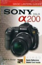 Magic Lantern Guides: SONY DSLR A200-ExLibrary