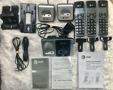AT&T 3 Handset Cordless Answering System with Caller ID/Call Waiting ~ CL82313
