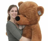 "Joyfay® 63"" 160cm Dark Brown Giant Teddy Bear Huge Toy Valentine Gift"