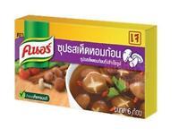 Knorr Seasoning Broth Soup Mushroom Vegetarian Food 60g Easy Cook (6 Cubes)