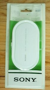 New Sealed Sony SRS-TP1 White Portable Stereo Travel Speaker NIB
