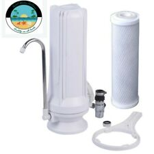 Drinking Water Countertop Carbon Water Filter - Chlorine,Taste & Odor Reduction