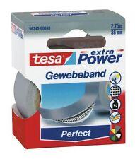 Tesa Tape ® 56343-00040 Woven 2, 75mx38mm Grey Premium Power Adhesive