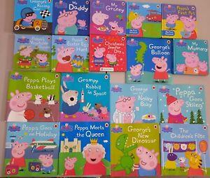 PEPPA PIG toddler book bundle x18 Mixed books some hardback