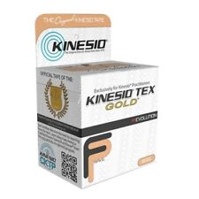 "Kinesiology Tape Kinesio TexGold FP WaterResist Cotton 2""X5-1/2Yd NonSterleEA/1"