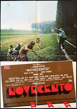 CINEMA-soggettone NOVECENTO de niro, B. BERTOLUCCI